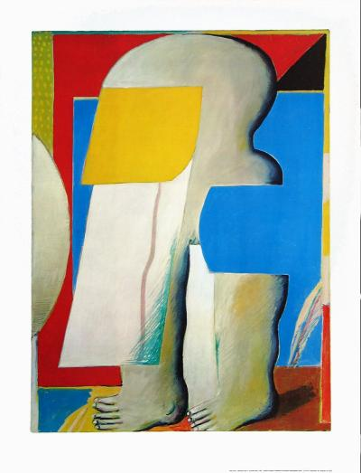 Masked Figure II, 1965-Horst Antes-Collectable Print
