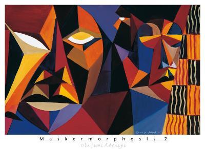Maskermorphosis II-Olu Jimi Adeniyi-Art Print