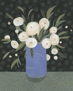 Mason Jar Bouquet I
