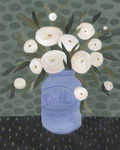 Mason Jar Bouquet IV