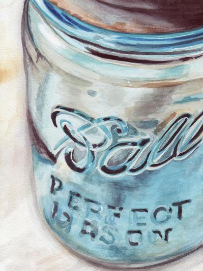 Mason Jar I-Redstreake-Art Print