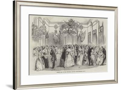 Masonic Ball in the Town-Hall, Salford--Framed Giclee Print