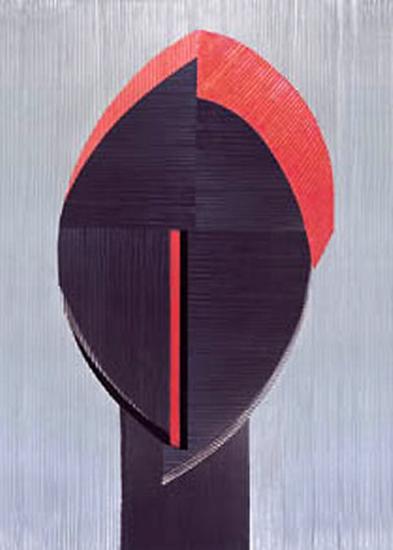 Masque Aborigaine IV-Marine Guillemot-Art Print