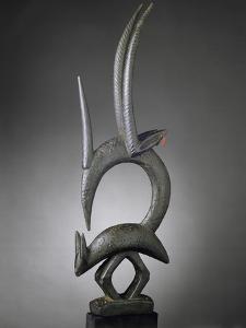 Masque-cimier d'antilope ciwara