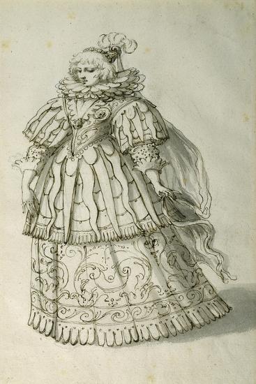 Masquer, C.1638-Inigo Jones-Giclee Print