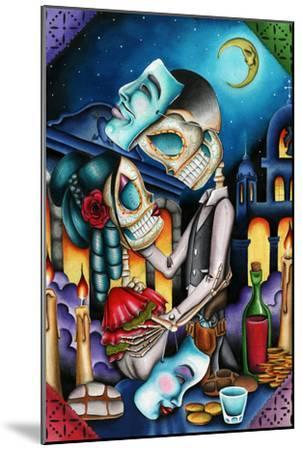 Masquerade-Dave Sanchez-Mounted Art Print