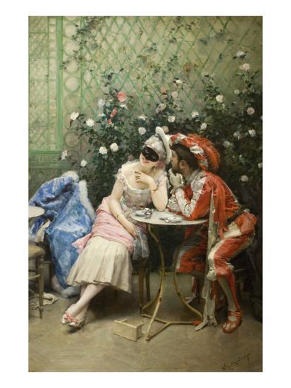 Masqueraders-Raimundo de Madrazo Y Garetta-Art Print