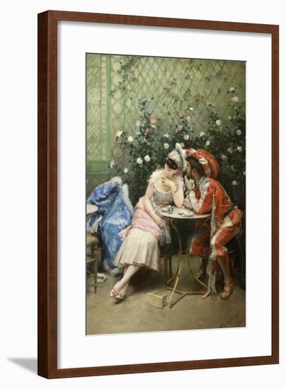 Masqueraders-Raimundo de Madrazo Y Garetta-Framed Art Print