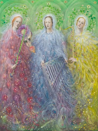 Mass for Three Voices, 2016-Annael Anelia Pavlova-Giclee Print