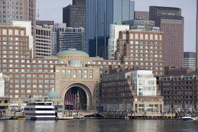 Massachusetts, Boston. Downtown City Skyline and Waterfront-Cindy Miller Hopkins-Photographic Print