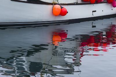 Massachusetts, Cape Ann, Rockport, Granite Pier, Lobster Boats-Walter Bibikow-Photographic Print