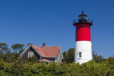 Massachusetts, Cape Cod, Eastham, Nauset Light, Lighthouse-Walter Bibikow-Photographic Print