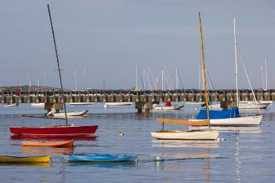 Massachusetts, Cape Cod, Provincetown, the West End, Boats-Walter Bibikow-Photographic Print