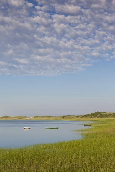 Massachusetts, Cape Cod, Wellfleet, View of the Gut by Great Island-Walter Bibikow-Photographic Print