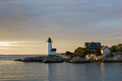 Massachusetts, Gloucester, Annisquam, Annisquam Lighthouse-Walter Bibikow-Photographic Print