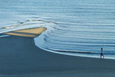 Massachusetts, Gloucester, Good Harbor Beach, Elevated View-Walter Bibikow-Photographic Print