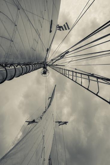 Massachusetts, Gloucester, Schooner Festival, Sails and Masts-Walter Bibikow-Photographic Print