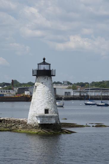 Massachusetts, New Bedford. Palmer Island Lighthouse-Cindy Miller Hopkins-Photographic Print