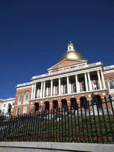Massachusetts State House, Boston, Massachusetts, New England, USA--Photographic Print