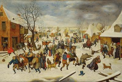 Massacre of the Innocents-Pieter Brueghel the Younger-Giclee Print