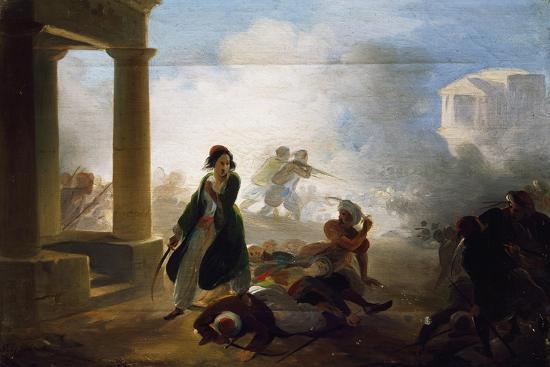 Massacres in Greece, 1855-1860-Giovanni Marghinotti-Giclee Print