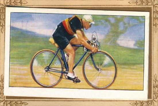 'Massed-Start Racing Position', 1939-Unknown-Giclee Print