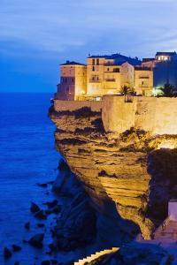 Bonifacio High Town on Limestone Cliff by Massimo Borchi