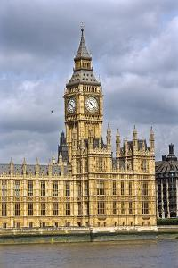 House of Parliament and Big Ben by Massimo Borchi
