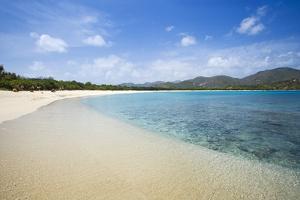 Tropical Beach, Long Bay, Beef Island, British Virgin Islands by Massimo Borchi
