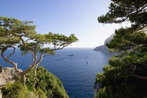 View from Belvedere Di Tragara on Capri by Massimo Borchi