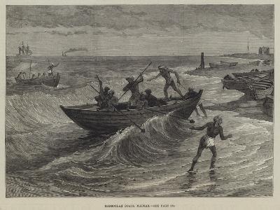 Massoolah Boats, Madras--Giclee Print