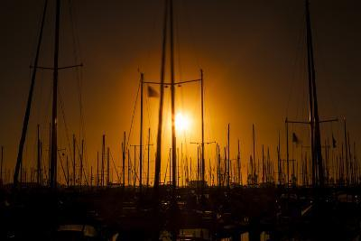 Mast Sunset-Chris Moyer-Photographic Print