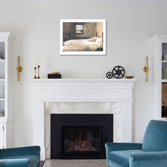 Master Bedroom Art Print by Andrew Wyeth | Art.com