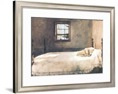 Master Bedroom Art Print by Andrew Wyeth   Art.com