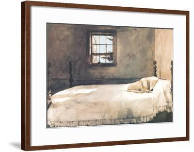 Master Bedroom-Andrew Wyeth-Framed Art Print