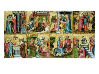 The Buxtehude Altar, Central Panel, 1400-10