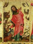 Altar Von St.Petri Hamburg (Grabower Altar), Um 1380. Erschaffung Der Tiere-Master Bertram of Minden-Giclee Print