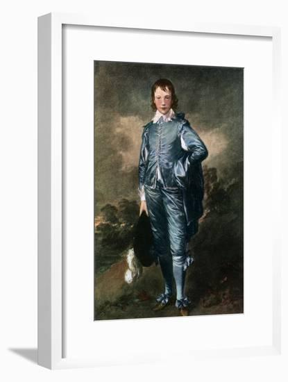 Master Buthall, (The Blue Bo), C1770-Thomas Gainsborough-Framed Giclee Print