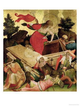 The Resurrection, Panel from the St. Thomas Altar from St. John's Church, Hamburg, Begun in 1424