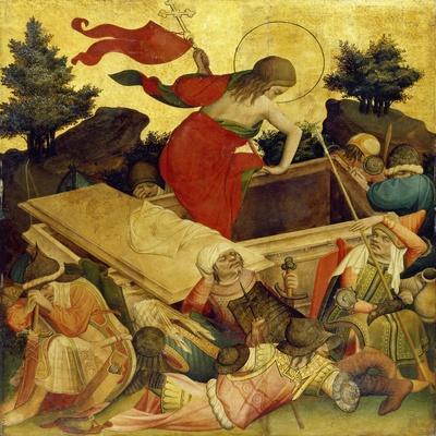 Thomas-Altar, 1424-1436. Auferstehung Christi