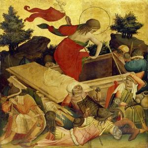 Thomas-Altar, 1424-1436. Auferstehung Christi by Master Francke