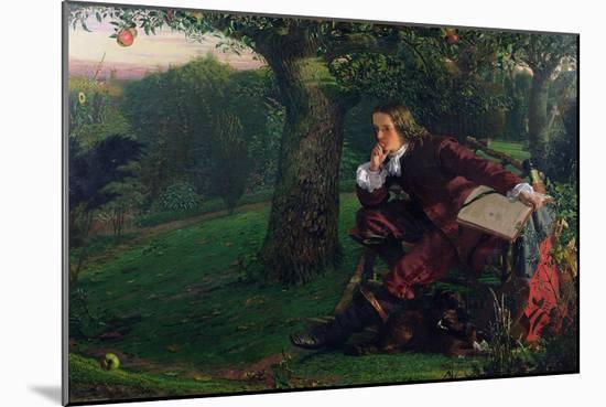 Master Isaac Newton, 1905 (oil on canvas)-Robert Hannah-Mounted Giclee Print