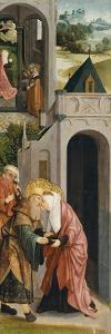 Panel of a Triptych with the Depiction of the Legend of Saint Joachim and Saint Anne by Master of Alkmaar