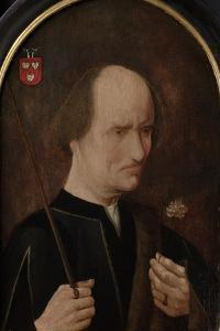 Portrait of Arent Franckensz Van Der Meer, Lord of Papendrecht, Called Malicious Aertje by Master of Alkmaar