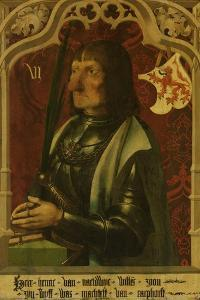 Portrait of Hendrik Iv of Naaldwijk, Knight and Hereditary Marshall of Holland by Master of Alkmaar