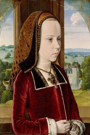 Portrait of Margaret of Austria, c.1490