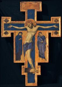 Crucifix by Master of the Blue Crosses