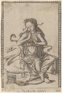 Musicha  c.1465 by Master of the E-Series Tarocchi