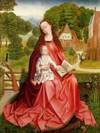Virgin and Child in a Garden