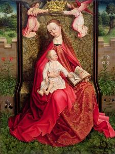 Virgin and Child by Master of the Embroidered Foliage